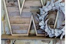 Pallet & Scrap Wood Projects / by Renee Magill