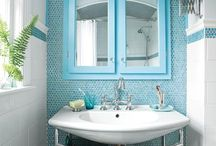 Bathroom inspiration / by Jane Reeves