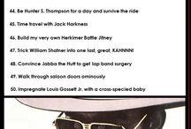 Bucket List / by Sam Mondary