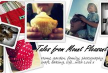 Things I blog about... / snippets from my blog Tales from Mount Pleasant / by Forest Flower Designs