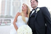 Real Weddings - Adriana and Domenique / A glamorous wedding of Adriana and Domenique at Acqualina Resort & Spa. For information about events at Acqualina, please contact Kerry Harter at 305-918-6774 or at kerry.harter@acqualina.com.  / by Acqualina Resort & Spa on the Beach