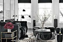 black and white / by allaboutvignettes.blogspot.com
