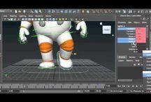 animation - Maya 3D totorial,etc / by Marta Araya