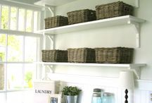 Laundry room ideas / by Yvette Yarbrough