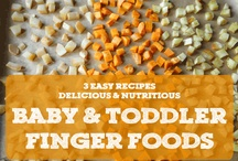 Baby & Toddler Foods / by Deborah Jennings