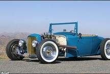Hot Rods / by Brad Butler