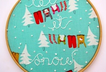 embroidery hoop art / by Karen CyLeung