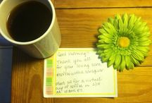 Coffee with a Caregiver / Share your support with your photo of your coffee (or beverage of your choice) and a note of comfort for fellow family caregivers. / by Denise M. Brown