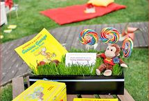 curious george party / by Lindsay Romney