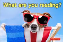 WHAT ARE YOU READING? / Join me!  I love books and talking about books. COMMENT on the WHAT ARE YOU READING pin with the dog and I'll figure out how to invite you to pin regularly so you can share what you're reading.  / by Pam @MUSTReads