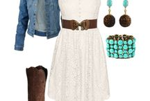 Western Wear / Western clothes/shoes/boots / by Debbie Hummel