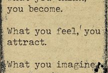 LAW OF ATTRACTION  / by Kat Munday