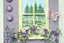 window cards / by Peggie Barker