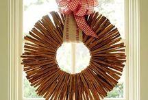 Wreath ideas / by Elise Calkins