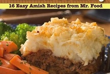 Amish Recipes / by Jessica Holtvluwer
