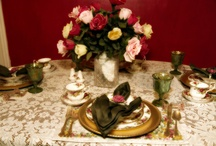 Tablescapes / #Tablescapes, tablescape, #tablescaping, table setting entertaining table decor, beautiful tables / by Alicia Stavropoulos