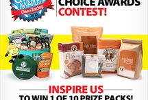Clean Choice Awards Contest / by Clean Eating