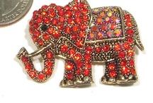 Elephant (Red) / by Amanda Roman