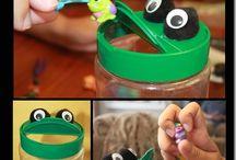 Tot School - F is for Frog / by Kat Gomez