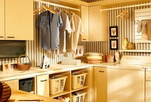Laundry rooms that may actually make me love laundry / by Julie Baker
