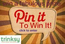 Give Away! / Check this board for fun freebies from Trinksy! / by trinksy