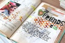 art journaling / by Melanie Massey