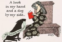 "Writerly Dogs / ""A book in my hand and a dog by my side... We belong together."" —Edward Gorey   (The companion board to Literary Cats: pinterest.com/chroniclebooks/literary-cats) / by Chronicle Books"