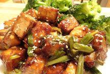 Vegan Main Dishes / Vegan main dish recipes & recipes easily made vegan / by Laura Anderson