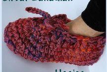 Crochet slippers & booties / by Kristen Ardeneaux