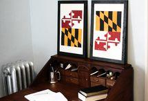 Maryland / by Katie Rudder