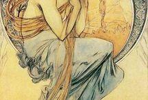 Art Nouveau Posters / by Amanda Raines