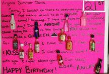 21st Birthday! / by Hailey Sharpe
