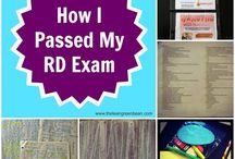 RD exam / by Kristen Mee