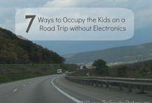 Parenting: Road Trip / by Jessica Burke