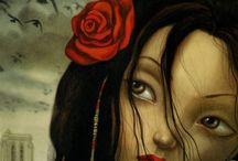 Benjamin Lacombe 's work / by Elisabeth Couloigner