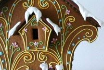 gingerbread beauties! / by Kathleen Brennan-Claydon