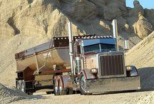 Dump Trucks / Semi-Trucks / by Jordin Lemire