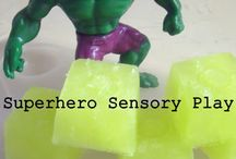 Sensory Play / Tubs and squishy stuff / by Louise Vaan