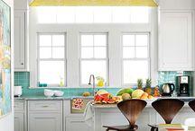 Fun kitchen / by Jami Wolfington