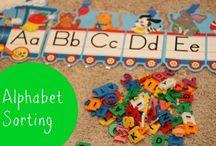 Alphabet Ideas / by Kathleen Ricci