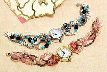 beaded watchbands / by Debbie Miller