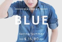 BLUE / http://www.madmext.com/ / by Madmext Online Store