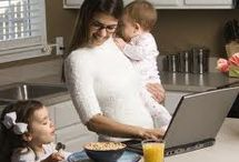 Work at Home Moms / by DrKavita Shaikh