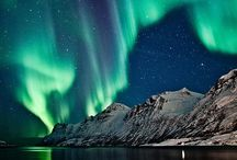 northern lights / by Kathy Moriarity