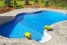 Outdoor pool ideas / by Karla Rojas
