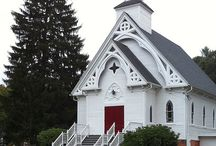 Lil white chapel / by Julie Brough