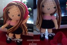 Amigurumi Crochet Patterns / by Lindapaula - Textile Jewelry - Joyeria textil
