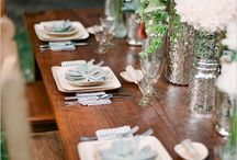 Wedding tables / by Catalina Bloch