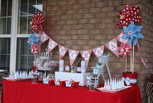 Ice Cream Birthday Party / by Karen Cruse
