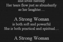 For Strong Women Only / by Puja Mohindra
